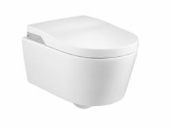 ROCA - In-Wash Inspira klozet závěsný Rimless se sprchovacími funkcemi, bílý (A803060001)