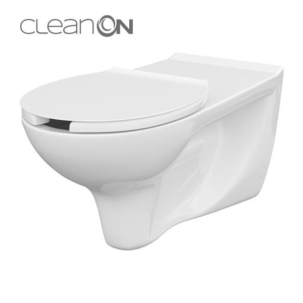 CERSANIT ZÁVĚSNÁ MÍSA ETIUDA BEZ SEDÁTKA PRO POSTIŽENÉ CLEAN ON K670-002