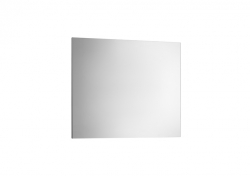 Zrcadlo Victoria Basic 700x600mm, rám anodizovaná šedá, hliník (A812327406) - ROCA