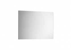Zrcadlo Victoria Basic 800x600mm, rám anodizovaná šedá, hliník (A812328406) - ROCA