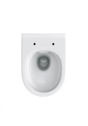ALCAPLAST  Jádromodul - předstěnový instalační systém s bílým tlačítkem M1710 + WC CERSANIT ZEN CLEANON + SEDÁTKO (AM102/1120 M1710 HA1), fotografie 12/10
