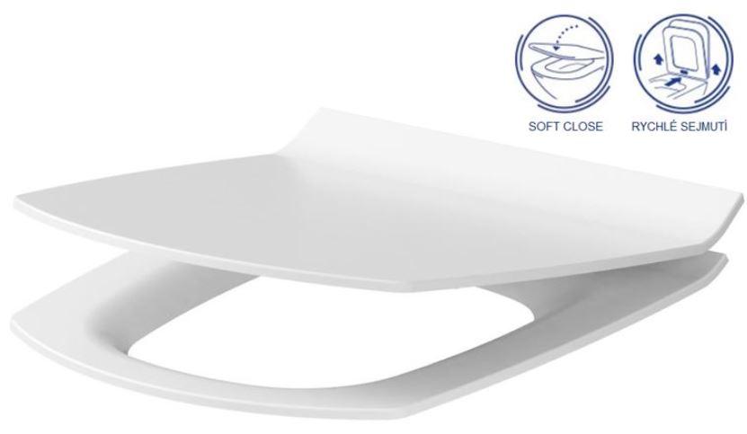 AKCE/SET/ALCAPLAST - Jádromodul - předstěnový instalační systém + tlačítko M1720-1 + WC CERSANIT CLEANON CARINA + SEDÁTKO (AM102/1120 M1720-1 CA3), fotografie 10/9