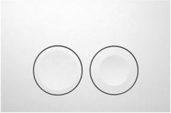 AKCE/SET/GEBERIT - KOMBIFIXBasic včetně ovládacího tlačítka DELTA 21 Bílé pro závěsné WC TESI RIMLESS (110.100.00.1 21BI TE2), fotografie 12/11
