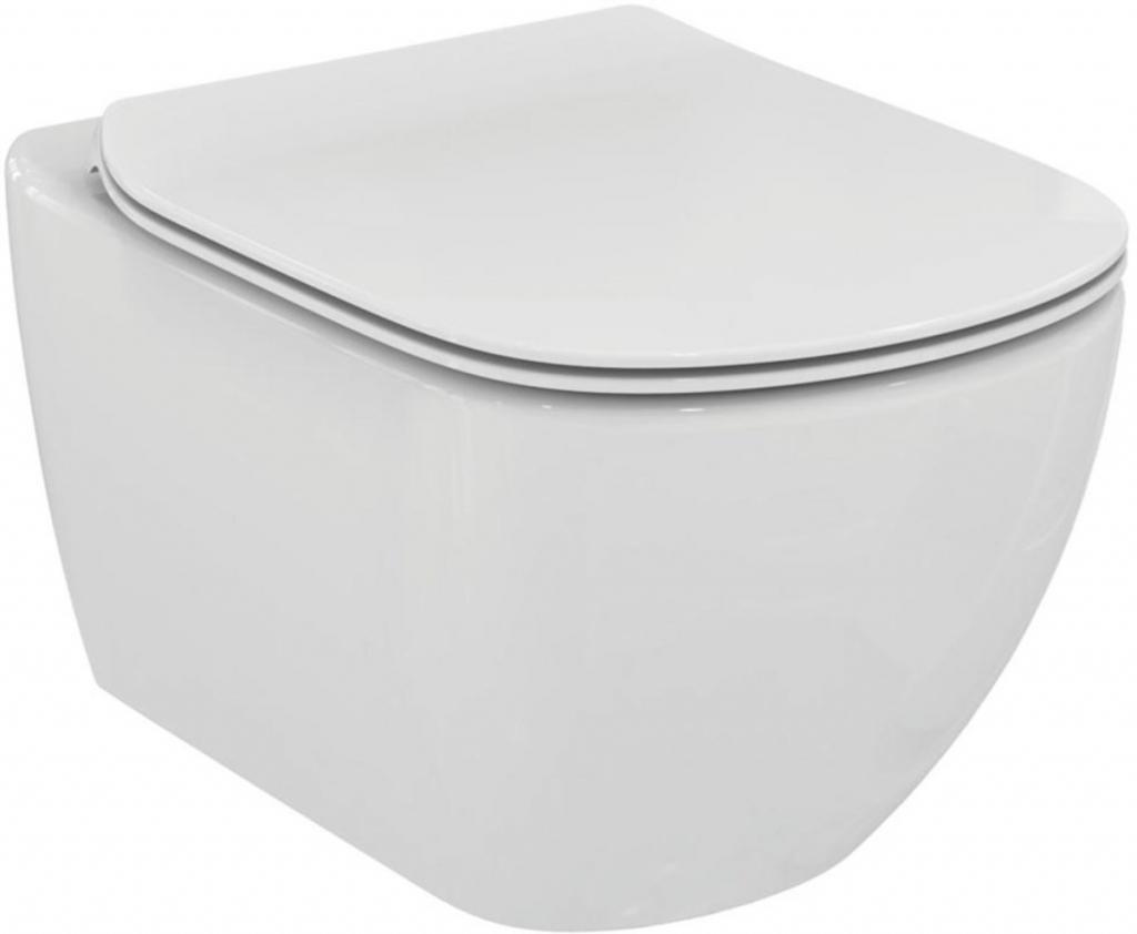 AKCE/SET/GEBERIT - KOMBIFIXBasic včetně ovládacího tlačítka DELTA 21 Bílé pro závěsné WC TESI RIMLESS (110.100.00.1 21BI TE2), fotografie 20/11