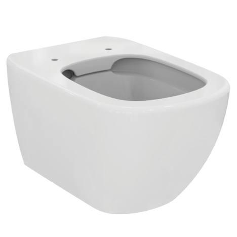 AKCE/SET/GEBERIT - KOMBIFIXBasic včetně ovládacího tlačítka DELTA 21 Bílé pro závěsné WC TESI RIMLESS (110.100.00.1 21BI TE2), fotografie 2/11