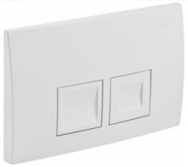 AKCE/SET/GEBERIT - KOMBIFIXBasic včetně ovládacího tlačítka DELTA 50 Bílé pro závěsné WC TESI RIMLESS (110.100.00.1 50BI TE2), fotografie 16/11