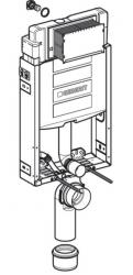 AKCE/SET/GEBERIT - Kombifix KOMBIFIX ECO pro závěsné WC, nádržka UP 320 bez Ovládací desky + WC TESI RIMLESS (110.302.00.5 TE2), fotografie 8/10