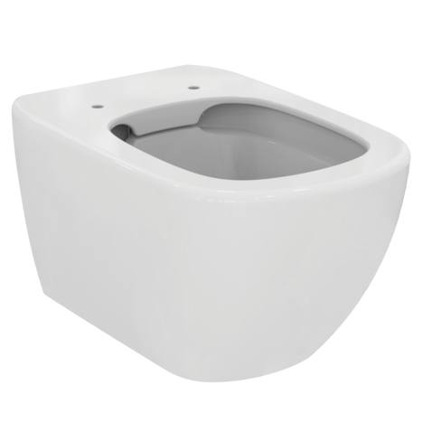 AKCE/SET/GEBERIT - Duofix Sada pro závěsné WC 458.103.00.1 + tlačítko DELTA21 bílé + WC TESI RIMLESS (458.103.00.1 21BI TE2), fotografie 2/10