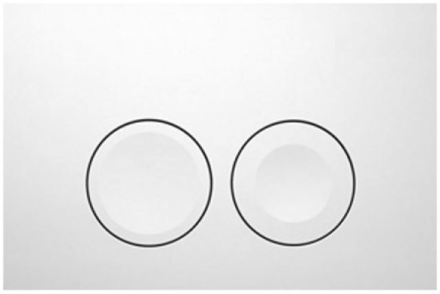 AKCE/SET/GEBERIT - Duofix Sada pro závěsné WC 458.103.00.1 + tlačítko DELTA21 bílé + WC TESI RIMLESS (458.103.00.1 21BI TE2), fotografie 14/10