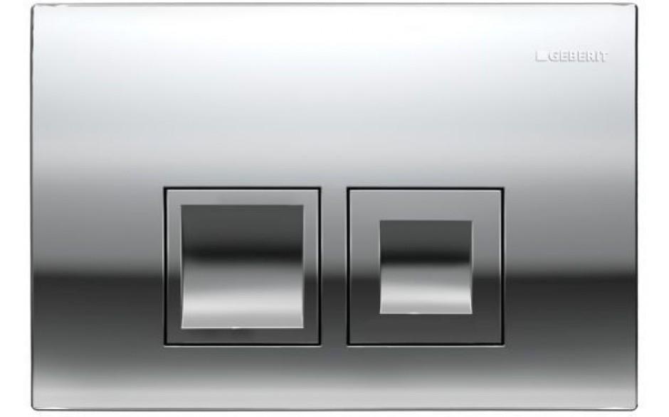 AKCE/SET/GEBERIT - Duofix Sada pro závěsné WC 458.103.00.1 + tlačítko DELTA50 CHROM + WC TESI RIMLESS (458.103.00.1 50CR TE2), fotografie 14/10