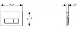 AKCE/SET/GEBERIT - Duofix Sada pro závěsné WC 458.103.00.1  + tlačítko DELTA51 CHROM + WC ARES + SEDÁTKO (458.103.00.1 AR1), fotografie 16/8