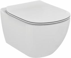 ALCAPLAST  Jádromodul - předstěnový instalační systém s bílým/ chrom tlačítkem M1720-1 + WC Ideal Standard Tesi se sedátkem RIMLESS (AM102/1120 M1720-1 TE2), fotografie 16/9