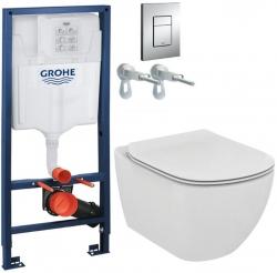 AKCE/SET/GROHE - Rapid SL Rapid SL pro závěsné WC 38528SET + WC TESI (38772001 TE3)