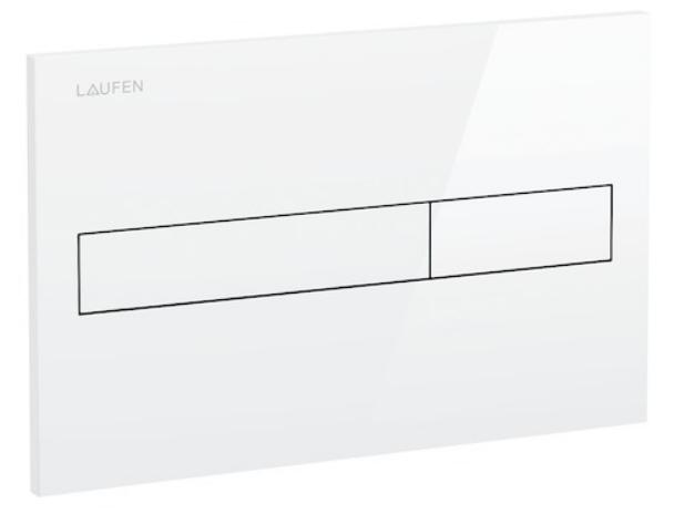AKCE/SET/LAUFEN - Podomít. systém LIS TW1 SET BÍLÁ + ovládací tlačítko BÍLÉ + WC TESI (H8946630000001BI TE3), fotografie 4/7