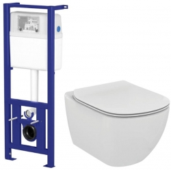 CERSANIT Nádržka LINK + WC Ideal Standard Tesi se sedátkem (K97-108 TE3)