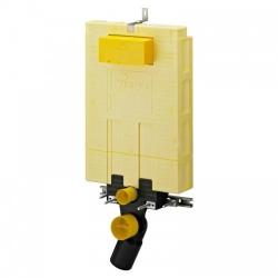 AKCE/SET/VIEGA - SET MONO modul WC čelní ovládání + ovládací tlačítko BÍLÉ + WC TESI (V606732BI TE3), fotografie 4/7