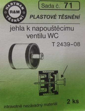 VÝPRODEJ - Těsnění T2439-08 (S71)