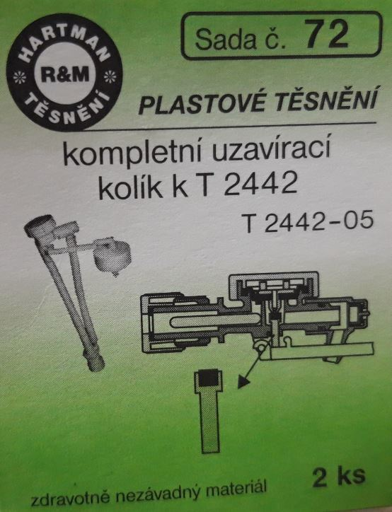 VÝPRODEJ - Těsnění T2442-05, T 2442 (S72)