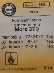VÝPRODEJ - Těsnění sada MORA 370 (S86)