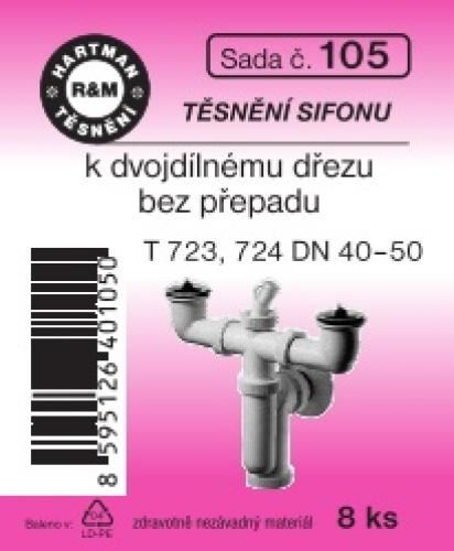 VÝPRODEJ - Těsnění T723,724 (S105)
