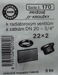 VÝPRODEJ - Těsnění 22x2 (S170)