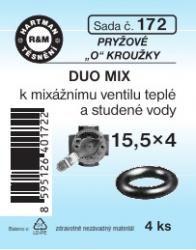 VÝPRODEJ - Těsnění 15,5x4 DUO MIX (S172)