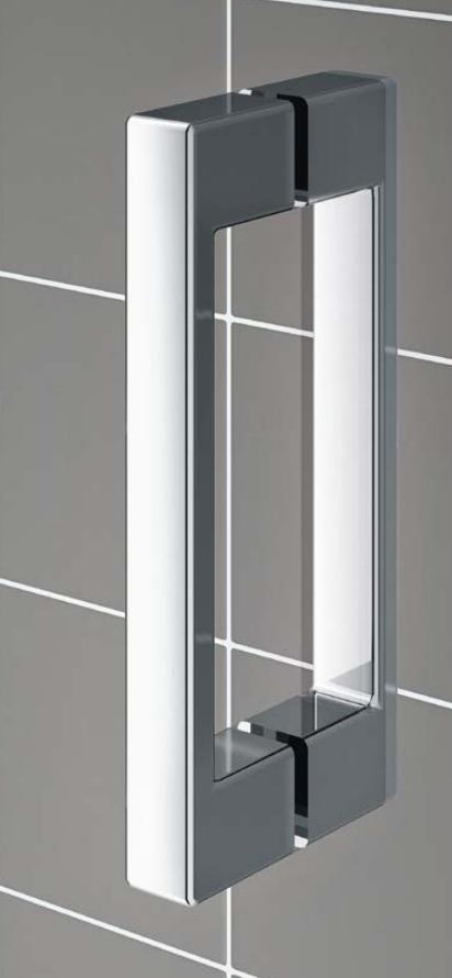 VÝPRODEJ - Kermi Kyvné dveře Cada XS 1GR 12020 1160-1210/2000 stříbrná vys.lesk ESG čiré Clean 1-křídlé kyvné dveře s pev. polem panty vpravo (CC1GR12020VPKVYP), fotografie 18/9