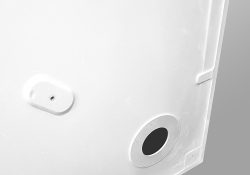 PRIM - Sprchová vanička čtvrtkruh 800x800 bílá BEZ NOH (PRIM8080R55M), fotografie 12/13