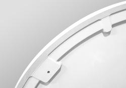 PRIM - Sprchová vanička čtvrtkruh 800x800 bílá BEZ NOH (PRIM8080R55M), fotografie 16/13