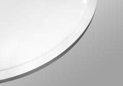PRIM - Sprchová vanička čtvrtkruh 800x800 bílá BEZ NOH (PRIM8080R55M), fotografie 18/13