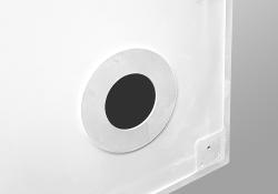 PRIM - Sprchová vanička čtvrtkruh 800x800 bílá BEZ NOH (PRIM8080R55M), fotografie 20/13