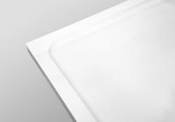 PRIM - Sprchová vanička čtvrtkruh 800x800 bílá BEZ NOH (PRIM8080R55M), fotografie 24/13