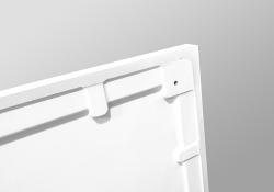 PRIM - Sprchová vanička čtvrtkruh 800x800 bílá BEZ NOH (PRIM8080R55M), fotografie 26/13