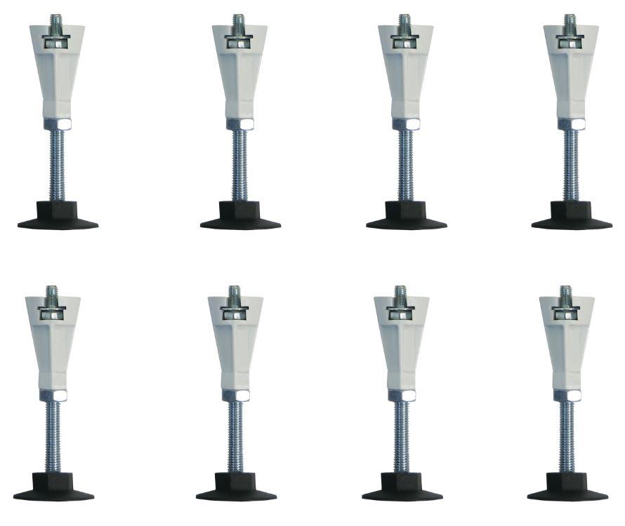 Přídavné nohy k vaničkám 8 ks (PRIMNOHY8M)