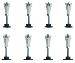 PRIM - Přídavné nohy k vaničkám 8 ks (PRIMNOHY8M)