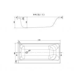 CERSANIT - VANA SMART 170X80 PRAVÁ (S301-116), fotografie 18/9