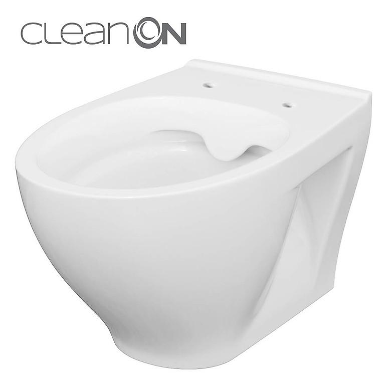 CERSANIT - ZÁVĚSNÁ WC MÍSA MODUO CLEANON BEZ SEDÁTKA  (K116-007)