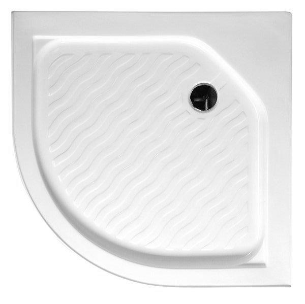 VÝPRODEJ - Sprchová vanička akrylátová, čtvrtkruh 90x90x15cm (C90VYP)