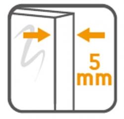 AKCE/SET/CERSANIT - SPRCHOVÝ KOUT ČTVRTKRUH 90X190 TRANSPARENT SKLO + VANIČKA (S154-002-SET1), fotografie 24/14