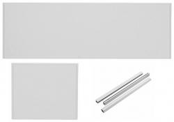 VÝPRODEJ - SET- vanový čelní panel +boční panel+montážní sada (SETpanel UNIVYP)