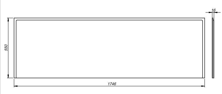 VÝPRODEJ - SET- vanový čelní panel +boční panel+montážní sada (SETpanel UNIVYP), fotografie 4/3