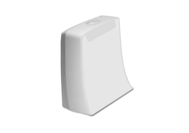 ROCA - Studio line - WC nádrž KHROMA, splachování 3/6l, spodní levý přívod (A341650000)