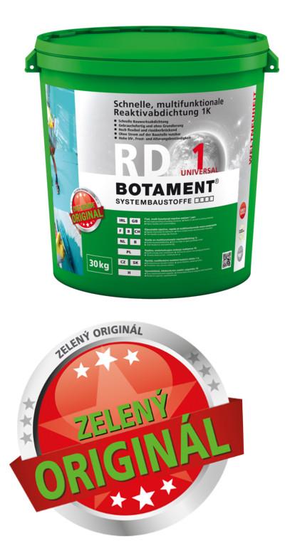 Ostatní BOTAMENT RD1 30 kg univerzální reaktivní izolační stěrka tekutá folie BO.RD1.30 BO.R