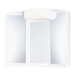 JOKEY ANGY bílá zrc.skříňka 59x50x15 plastová,(541203-011) 7-14W E14 (185412020-0110)