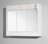 JOKEY RUBÍN bílá zrc.skříňka 60x51x16 plastová, 2x40W (861332-0110)