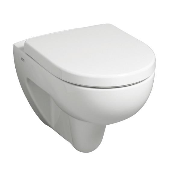 KERAMAG - K.RenovaPlan WCmísa závěsná bílá 54cm, 4,5/6L 203040000 (203040000)