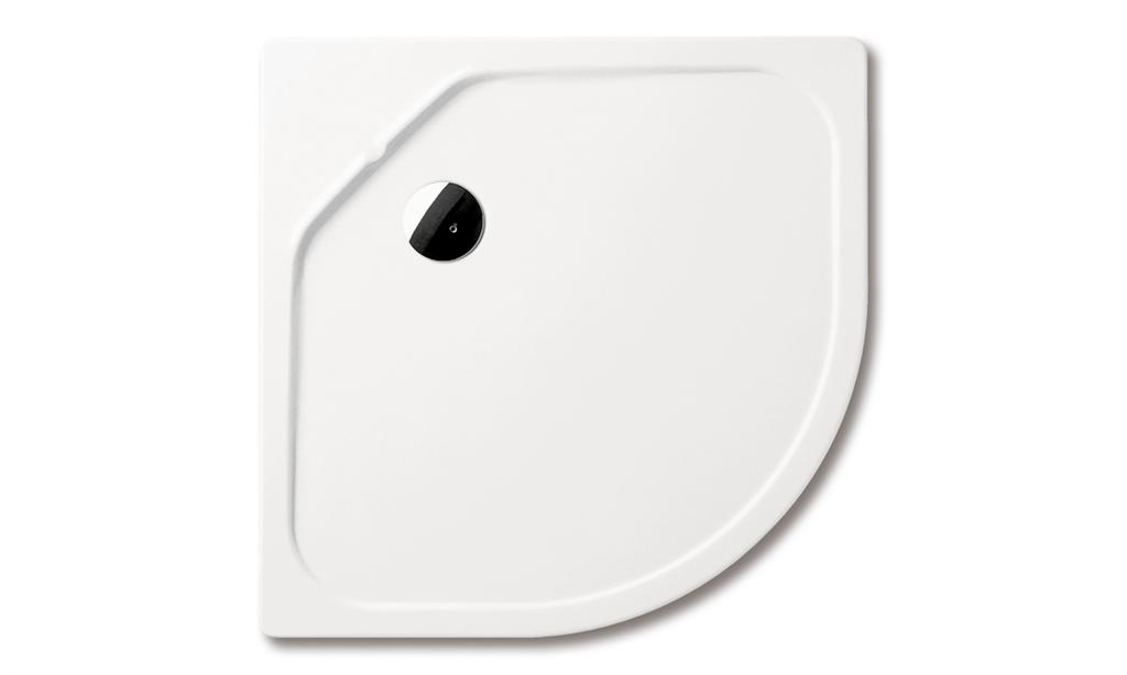 Kaldewei FONTANA 567-4, 800x800x65 mm, bílá, Perl-Effekt, s panelem, polystyrénovým nosičem a lakovaným hli 446348003001 446348003001