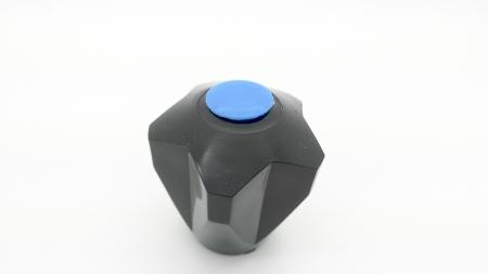 """Ostatní - T 5 černá S 1/2"""" plast tisícihran-rukojeť 631860 (631860)"""