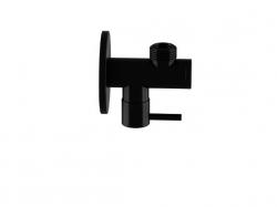 """Rohový ventil 1/2"""" černá mat  (100 1640 S) - STEINBERG"""