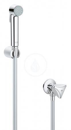 VÝPRODEJ - Tempesta-F Nástěnný ventil s ruční bidetovou sprškou, chrom (27514001VYP)